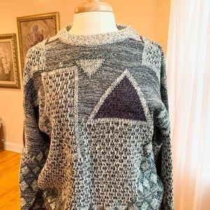 Vintage 90s Pullover Grandpa Sweater